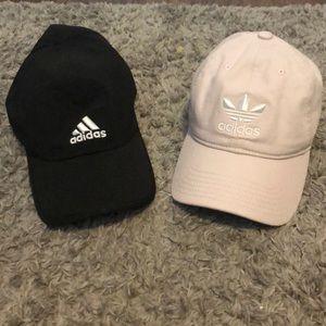 2 adidas hats